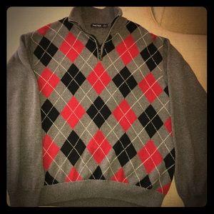 Nautica Classic argyle sweater pullover